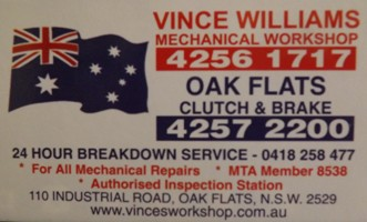 Vince Williams Mechanical